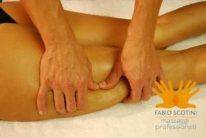 massaggio drenante anticellulite